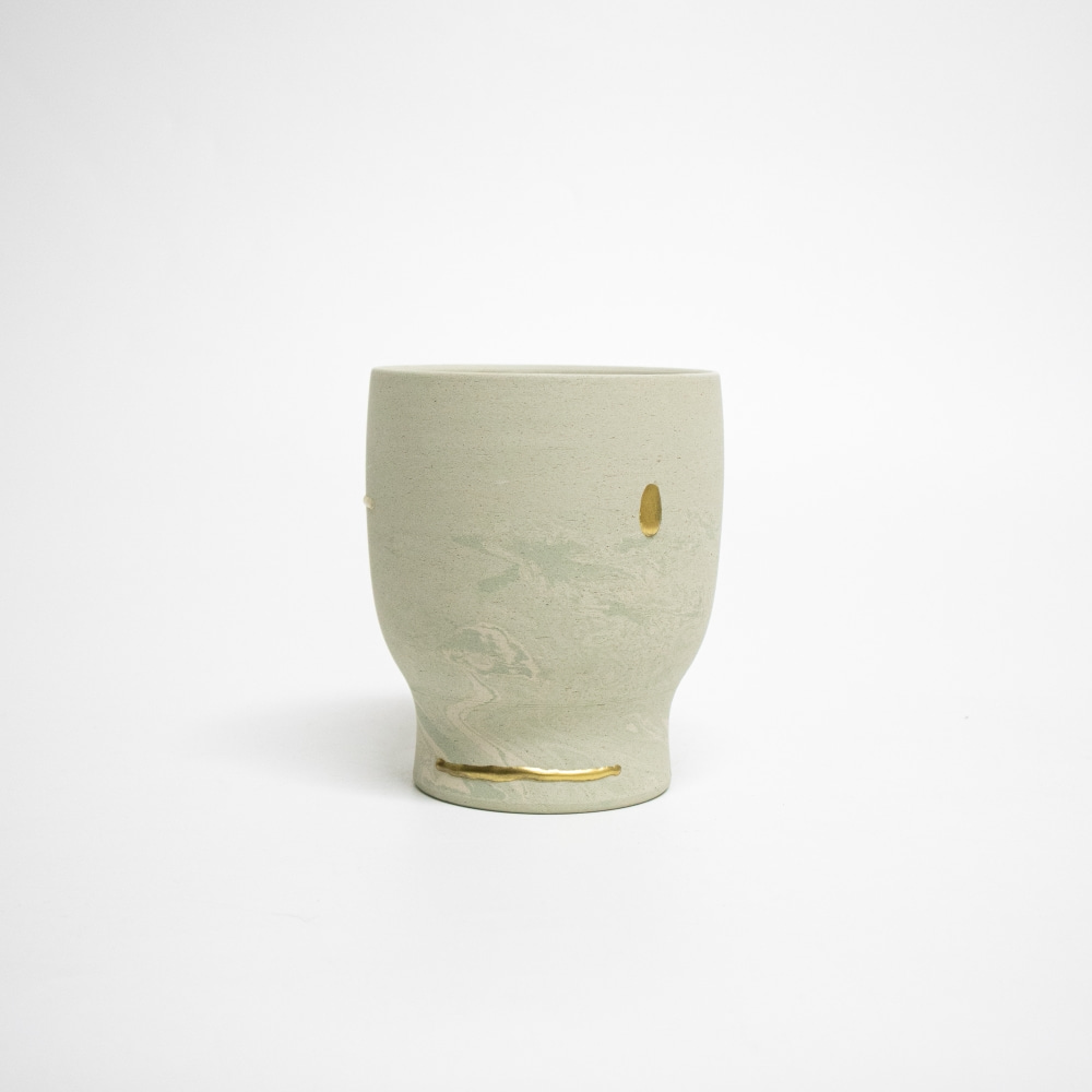 REEBORN No.153 | Mortar pot-marbling