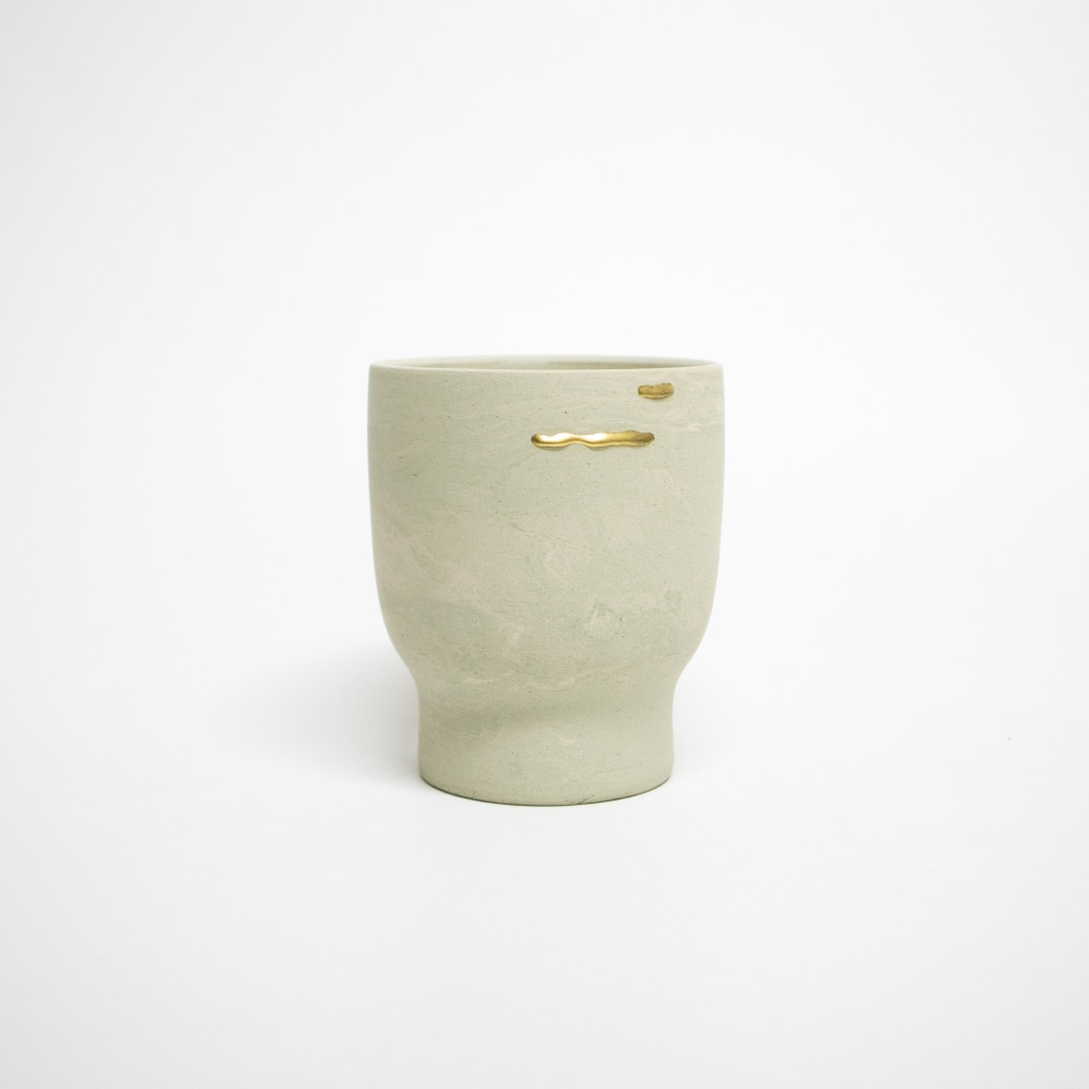 REEBORN No.138 | Mortar pot-marbling